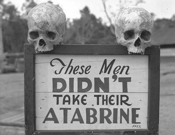 Advertisement for Atabrine