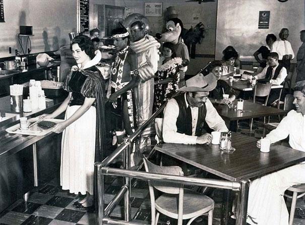 Disneyland Employee Cafeteria